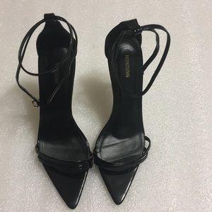 😍PrettyLittleThing😍 black heels size 9